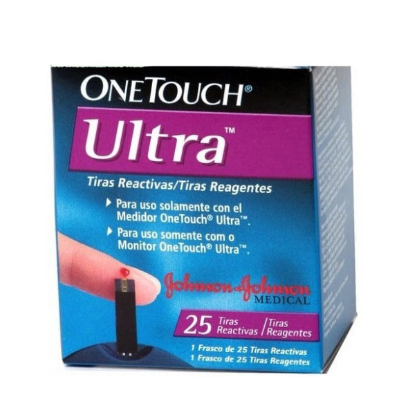 Фото Тест-полоски  ONE TOUCH ULTRA №25*2